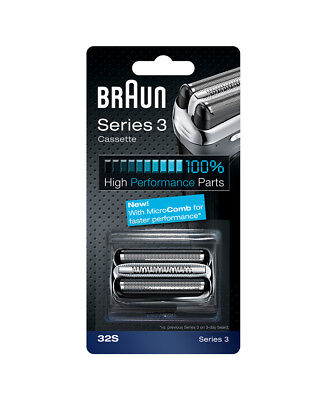 New Braun Series 3 32 S Cassette Shaver Replacement Part 32 S 81296667 Series 3