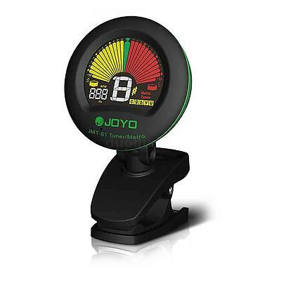 JOYO JMT-01 Clip-on Tuner Metronome for Guitar Chromatic Bass Violin Ukulele