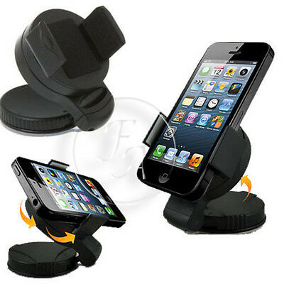 Universal Windscreen In Car Suction Mount Holder Cradle GPS For iPhone 4 4S