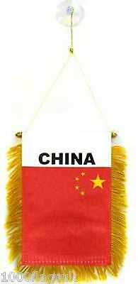 China Flag Hanging Car Pennant for Car Window or Rearview Mirror