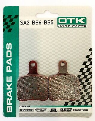KART TonyKart / OTK Genuine Brake Pad Set Red ('04 to 2016) EVRR EVR EVK 401