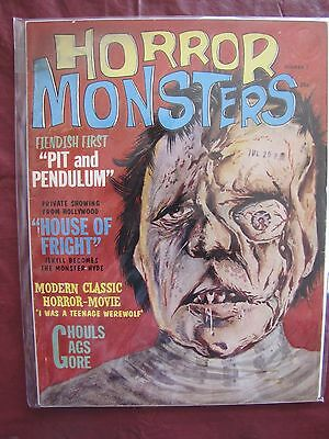 Horror Monsters # 2 I Was A Teenage Frankenstein