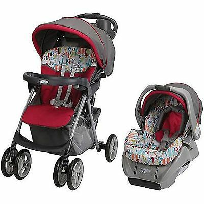 Graco Spree Classic Connect Travel System, Signal Baby Stroller Infant Car Seat