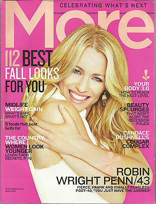 More September 2009 Robin Wright Penn/Midlife Weight Gain/Japan's Younger Look