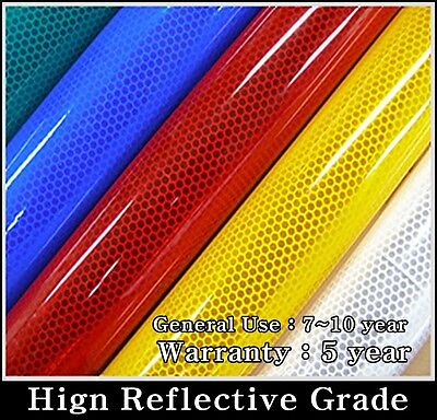 "REFLECTIVE Tape/Sheet/Film/High Grade/Vinyl/Adhesive/12""x48""/HIP/CHOICE~~~"