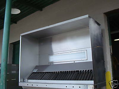 """LC SYSTEM RIGIDIZED SSTEEL 84"""" LIGHTED TP1 EXHAUST HOOD"""