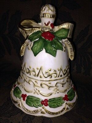 Limited Edition Ceramic Christmas Bell Decoration #9701 out of 10,008