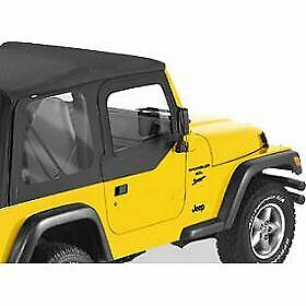 Bestop Set of 2 Half Doors Front New Jeep Wrangler 1997-2006 Pair 51790-35