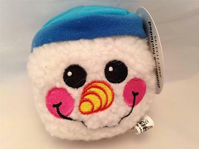 Slam Jammers : Just for Laughs Christmas Holiday Sound Plush SNOWMAN Ball Toy
