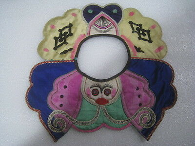 Nice Antique chinese children embroider collar