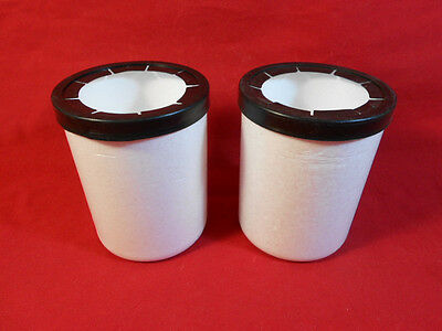2 Styrofoam Can Koozies, Thermo Coaster Sports Drink Bottle, Foam Beer Can Wrap