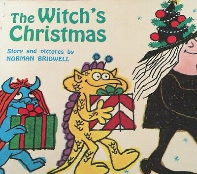 The Witch's Christmas- Norman Bridwell (1970) 1st Print