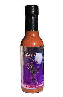 Carolina Reaper Hot Sauce Wicked Reaper Pepper Sauce Hotter than Ghost 5 oz HOT