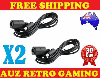 2x NEW Nintendo GameCube Wii Controller Extension Cable Cord Control