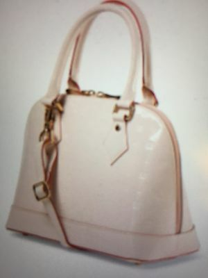 New! Arcadia Rosa Patent  Leather Bugatti Bag/ luxury & glamour! 1 DAY ONLY!��