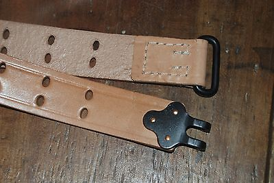 WW2 Reproduction US M1907 Leather Sling for M1903 Springfield or M1 Garand Rifle