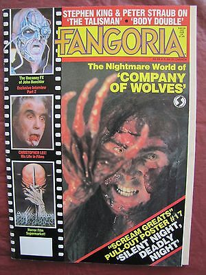 Fangoria # 42  Company of Wolves & Christopher Lee His Life In Films