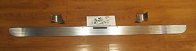 1957 CHEVY TRUNK DECK LID ACCESSORY ALUMINUM TRIM MOLDING KIT  Made in USA