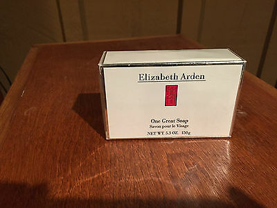 "Elizabeth Arden ""One Great Soap"" Discontinued and SO hard to find.  New, sealed"