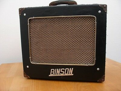 Amplificatore Binson tube vintage amplifier (good for fender and gibson guitars)