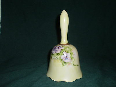 hand painted porcelian bell