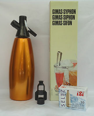 SODA SYPHON -  Made in ITALY - 10 FREE Bulbs - TOP QUALITY