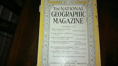 National Geographic ( November 1942 ) ( Nice Price )