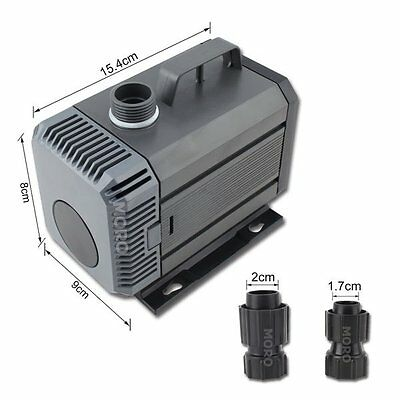 5000L/H Submersible Water Pump Aquarium Fountain Pond Marine Fish TankHydroponic