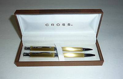 NEW CROSS PEN AND PENCIL SET  SUPER NICE SET - SEE PHOTOS