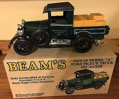 "Jim Beam 1928-29 Model ""A"" Ford Pickup Truck Decanter - Empty"
