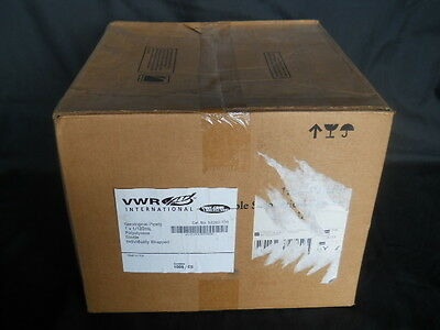 NEW IN BOX 1,000 VWR 53283-700 pipets, 1 x 1/100ml, poly, sterile