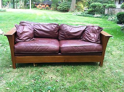 Stickley Brothers Sofa Couch Mission, Arts & Crafts