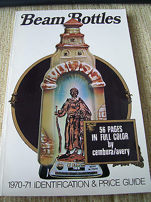 BEAM BOTTLES book 1970-71 IDENTIFICATION & PRICE GUIDE