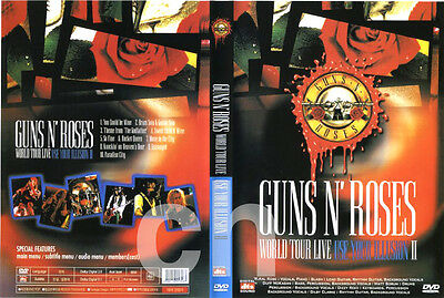 GUNS N' ROSES: World Tour Live - Use Your Illusion 2 (1992) DVD NEW