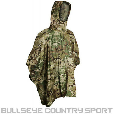 Viper Poncho V-Cam Military Style Tactical Rain Cover Airsoft Army Festival