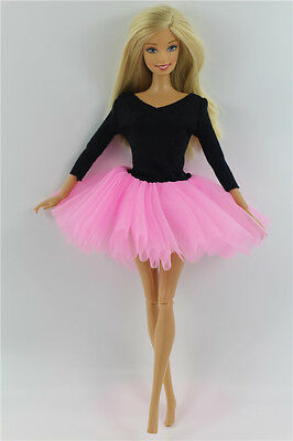 Fashion Handmade Ballet Dress/Clothes/Outfit For Barbie Doll L04PU