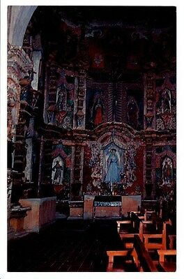 Tucson, AZ - Chapel of the Sorrowful Mother at Mission San Xavier Del Bac 1965