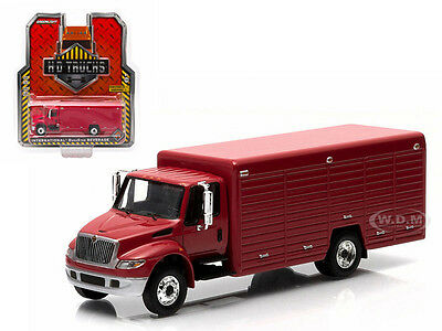 2013 International Durastar 4400 Beverage Truck Red 1/64 Greenlight 33010A