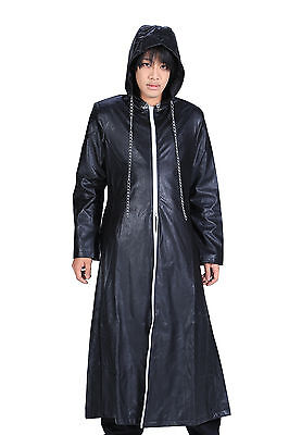 Kingdom Hearts II Cosplay Organization XIII Leather Outfit 2nd Ver