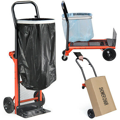 Large 80KG Folding Hand Truck Sack Trolley Barrow Cart Garden Platform