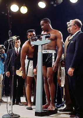 MUHAMMAD ALI  v SONNY LISTON 49 (BOXING) PHOTO PRINT 49A