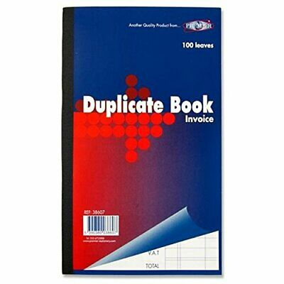 Cpg/124-New Duplicate Book 100 Page Numbered Receipt 2 Carbon Sheet Copy-Premium