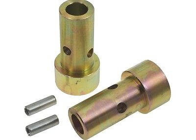 3 pair Speeco Zinc Cat One Quick Hitch Adapter Bushings