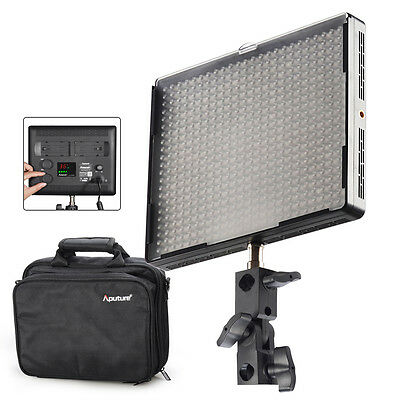 Aputure AL-528C 528PCS High CRI LED Video Studio Light Lamp F DSLR camera +Bag