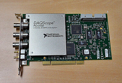 National Instruments DAQ Scope Card PCI-5102 free ship