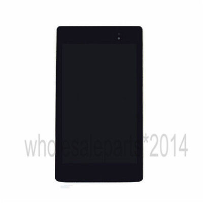LCD Touch Screen Digitizer + Frame For 2013 Asus Google Nexus 7 2nd Wifi USA
