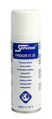 Servisol 6100003000 Circuit Freezer Freeze It 20 200ml Aerosol