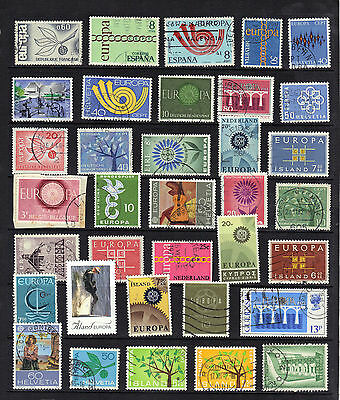 EUROPA Thematic Stamp Collection Used Ref: TH97