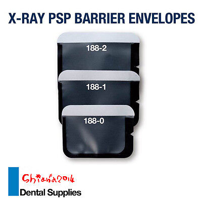 500pcs Dental Disposable X-Ray PSP Barrier Envelopes No 188-2