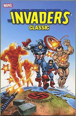Invaders Classic 1 TPB Marvel 2007 NM 1 2 3 4 5 6 7 8 9 Premiere 29 30 Giant 1